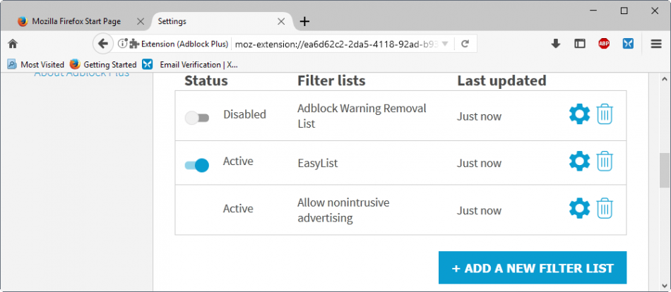 How to migrate from Adblock Plus to uBlock Origin - Browser engine