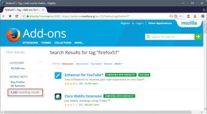 firefox-57-compatible-addons