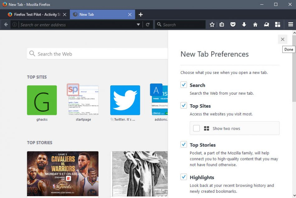 firefox-57-new-tab-page