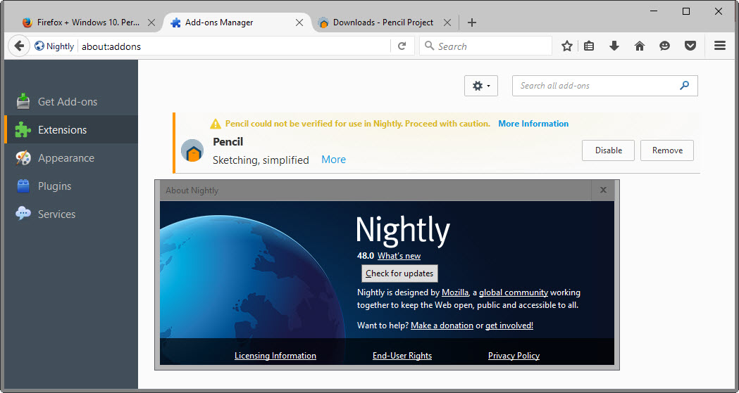 Firefox Unbranded Build Downloads - Browser engine