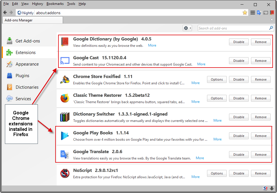 How to install Google Chrome extensions in Firefox ...