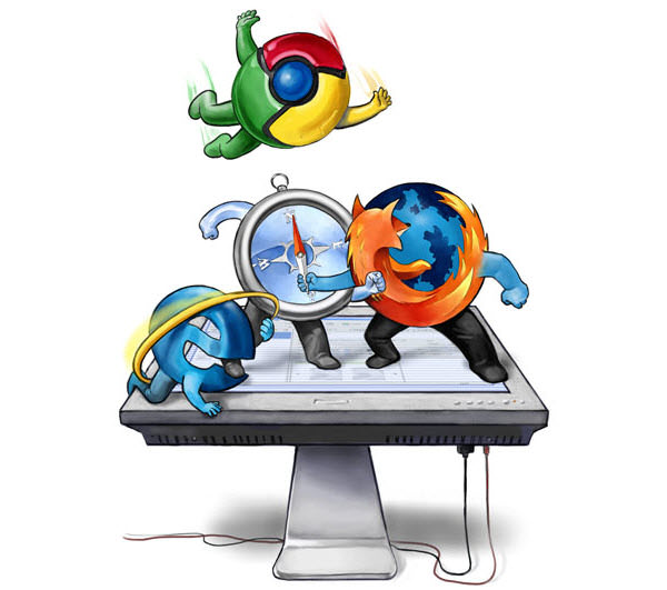 browsers battle